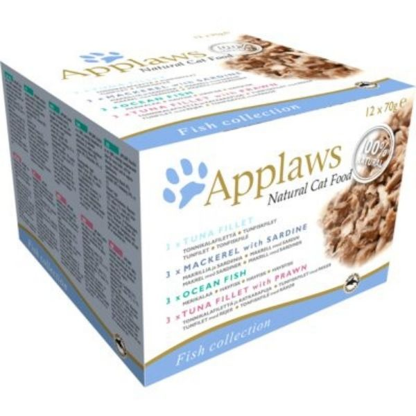 Applaws Cat Multipack Fish Collection