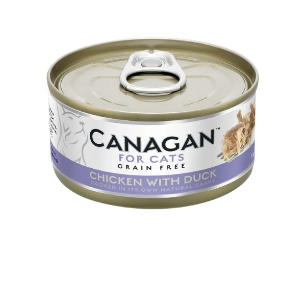 Canagan Cat Chicken With Duck Can 75g