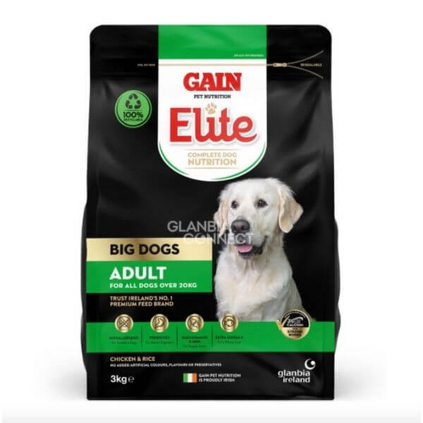 gain elite big dog adult dog food