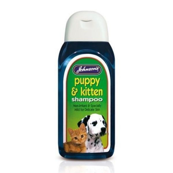 Johnsons Puppy & Kitten Shampoo 200ml From The Pet Parlour Dublin