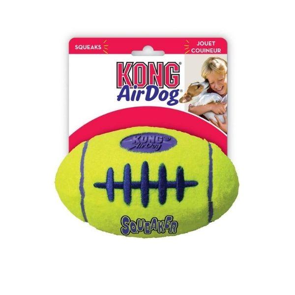 Kong Air Dog Squeaker Football From The Pet Parlour Dublin