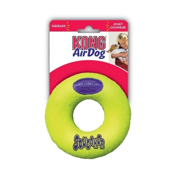 Kong Air Dog Squeaker Donut From The Pet Parlour Terenure
