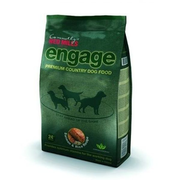 Red Mills Engage Salmon & Rice dog food from The Pet Parlour Dublin