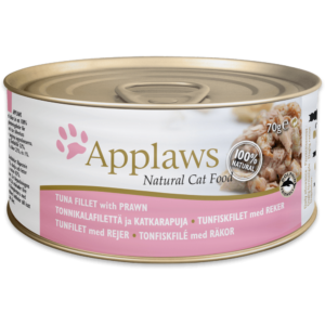 Applaws Cat Tuna Fillet With Prawn Tin