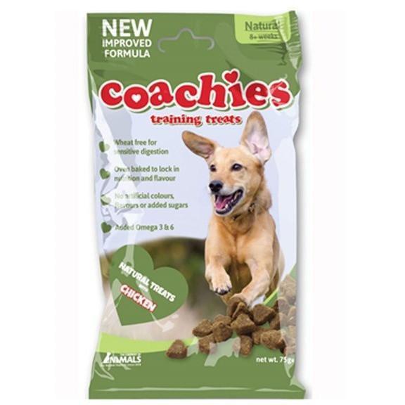 Coachies Natural Training Treats (Grain Free)