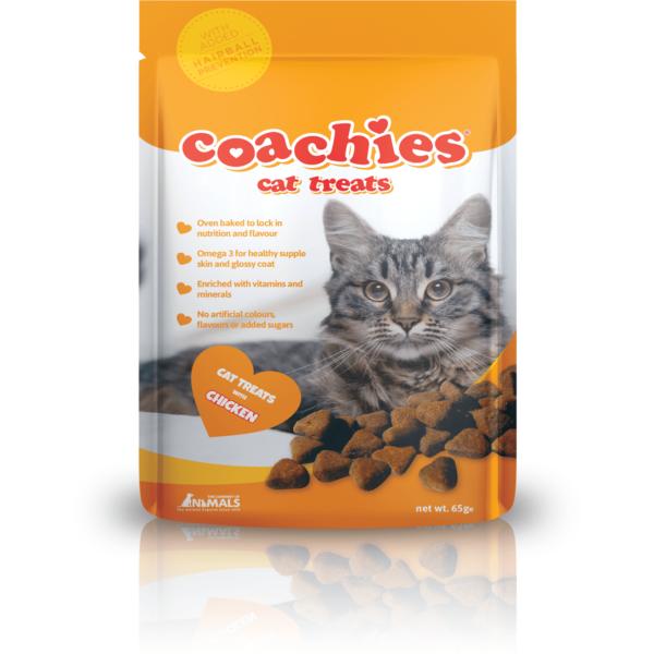 Coachies Cat Treats Chicken 65g