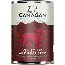 Canagan Venison & Wild Boar Stew Can 400g