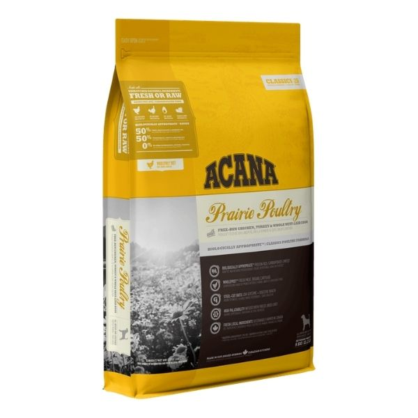 Acana Prairie Poultry Dog Food From The Pet Parlour Dublin