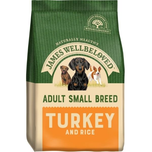 James Wellbeloved Small Breed Adult Turkey & Rice Pet Parlour Dublin