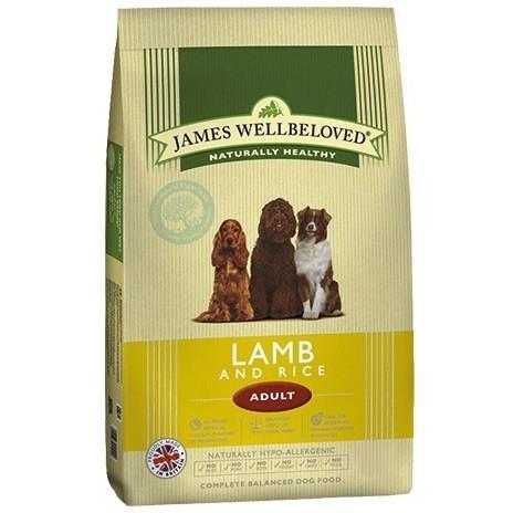 James Wellbeloved Lamb & Rice Adult