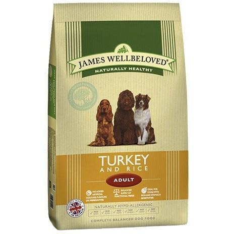 James Wellbeloved Turkey & Rice Adult