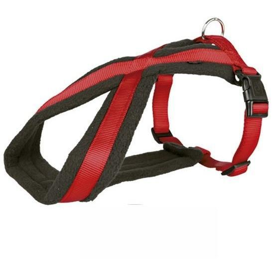 Trixie-Premium Touring Harness Red