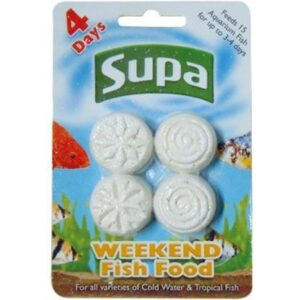 Supa-Weekend Fish Food Blocks