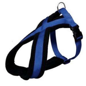 Trixie-Premium Touring Harness Blue