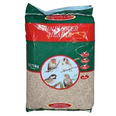 Johnston and Jeff Sunflower Hearts 12.75kg
