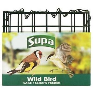 Supa Suet Block Feeder Empty 12CM