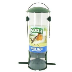 "Supa Wild Bird 2Port Seed Feeder 8"""