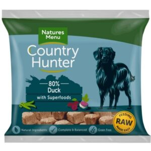 Country Hunter Raw Duck Nuggets 1kg The Pet Parlour Dublin