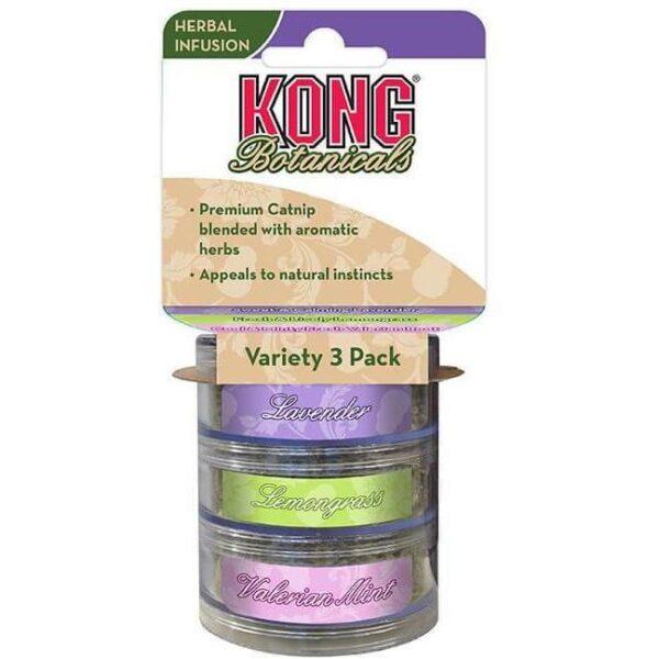 Kong Catnip Botanicals 3-Pack Variety