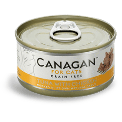 Canagan Cat Tuna With Chicken Can 75g