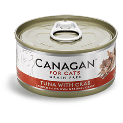Canagan Cat Tuna With Crab Can 75g