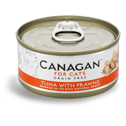Canagan Cat Tuna With Prawns Can 75g