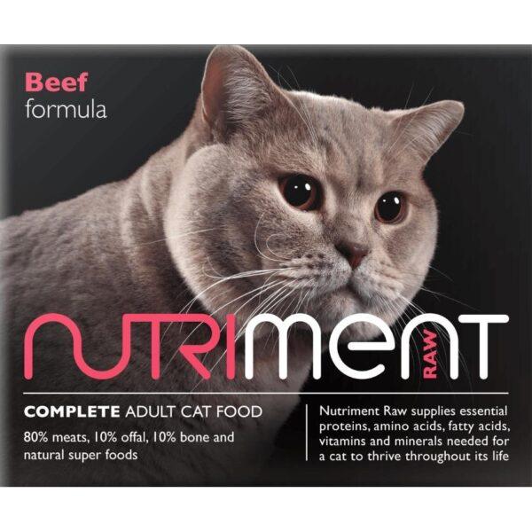Nutriment Cat Beef 500g