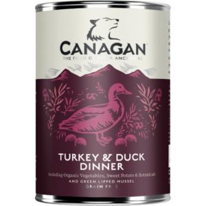 Canagan Turkey Duck Can Wet Dog Food The Pet Parlour Dublin