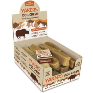 Yackers Natural Himalayan Raw Dog Chews