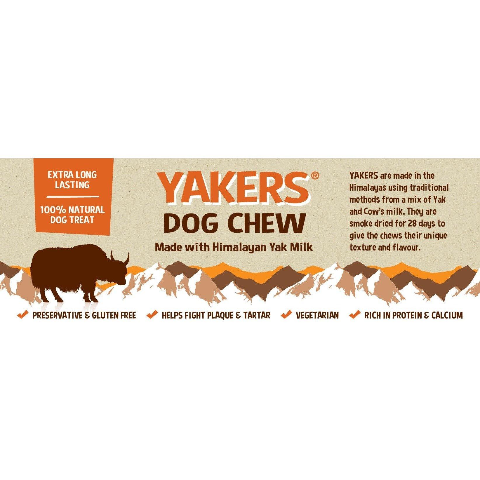 Yackers Natural Himalayan Raw Dog Chews