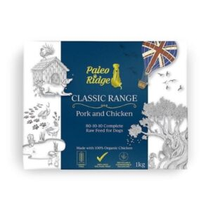 Paleo Ridge Pork & Chicken Complete Raw Dog Food from The Pet Parlour Dublin