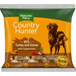 Country Hunter Raw Turkey & Goose Nuggets 1kg The Pet Parlour Dublin