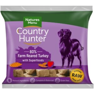 Country Hunter Raw Turkey Nuggets 1kg The Pet Parlour Dublin