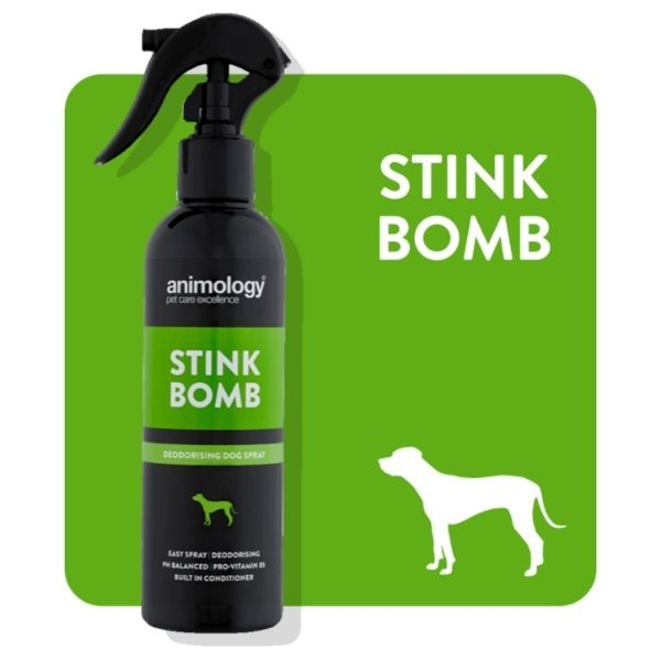 Animology Stink Bomb Deoderising Dog Spray From The Pet Parlour Dublin