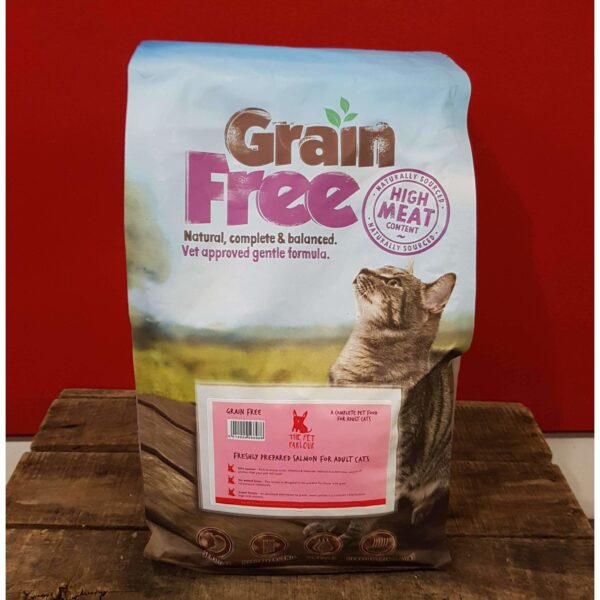 Pet Parlour Grain Free Salmon For Cats