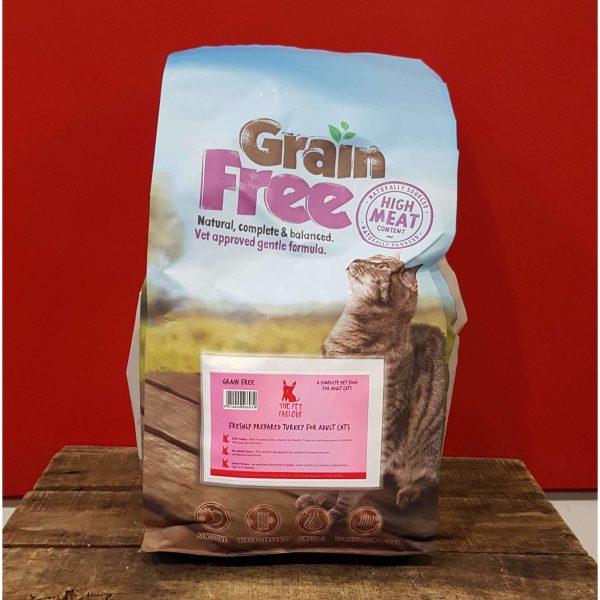 Pet Parlour Grain Free Turkey For Cats
