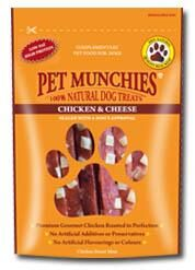 Pet Munchies Chicken & Cheese Strips