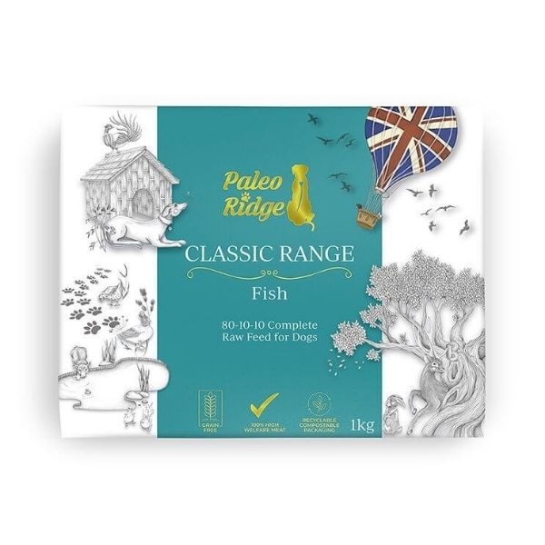 Paleo Ridge Classic Oily Fish Complete Raw Dog Food from The Pet Parlour Dublin