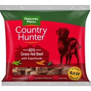Country Hunter Raw Beef Nuggets 1kg The Pet Parlour Dublin
