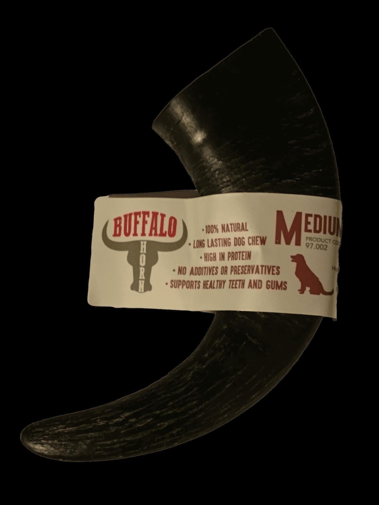 Buffalo Horn 100% Natural Dog Chew