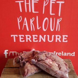 Raw Beef Liver Chunks 1kg