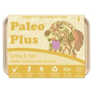 Paleo Plus - Turkey & Fish 500g, Raw Dog Food, Paleo Ridge, The Pet Parlour Terenure