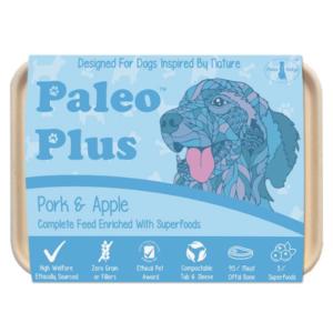 Paleo Plus - Pork & Apple 500g, Raw Dog Food, Paleo Ridge, The Pet Parlour Terenure
