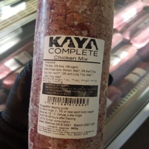 Kaya Complete Chicken Mix 995g, Raw Dog Food, The Pet Parlour Terenure Dublin