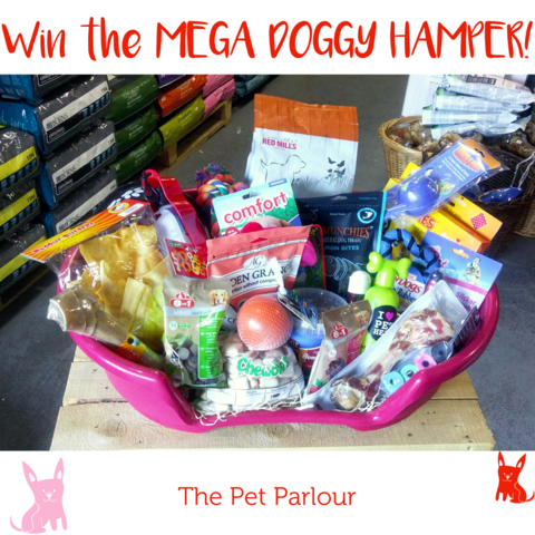 Mega Doggy Hamper Raffle The Pet Parlour Terenure