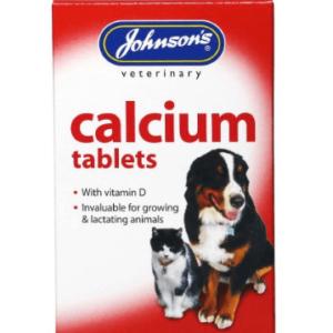 Calcium Tablets 40, Supplements, Johnsons The Pet Parlour Terenure Dublin