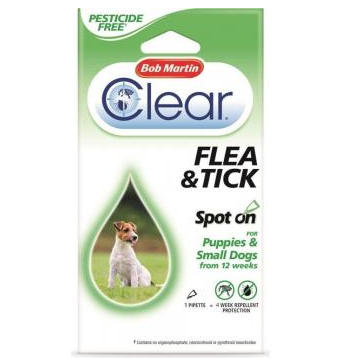 Bob Martin Flea & Tick Spot On Large Dogs, Dog Hygiene, Bob Martin, The Pet Parlour Terenure