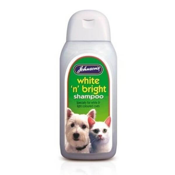 Johnsons White N Bright Cat Shampoo The Pet Parlour Terenure Dublin