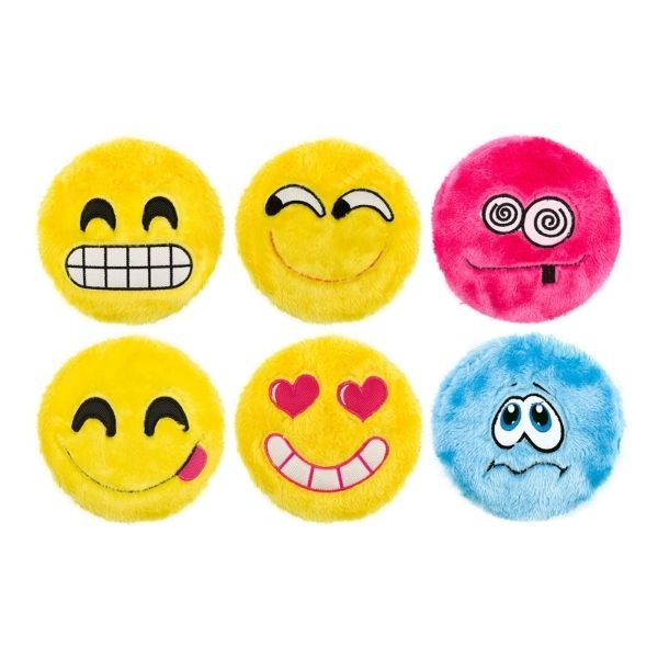 Ancol Fluffy Emoji Dog Toy From The Pet Parlour Dublin