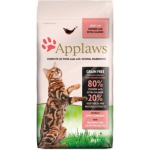 Applaws Chicken Extra Salmon Grain Free Cat Food
